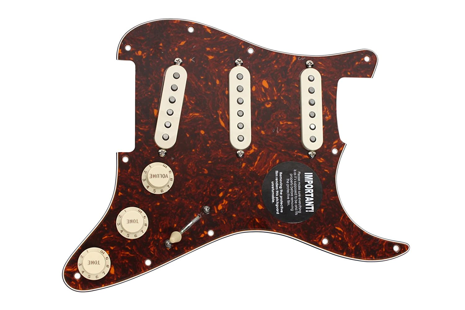 Dimarzio Area 58 61 Lincoln Brewster Loaded Texas Special Strat Pickups Wiring Diagram Pickguard Prewired To Aw Musical Instruments