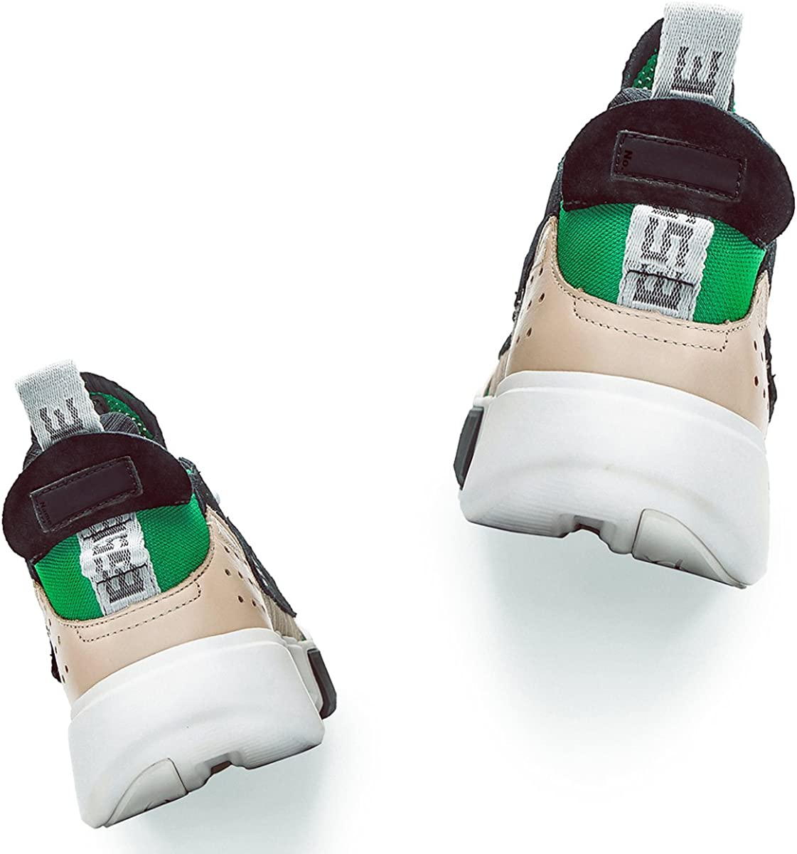 LI-NING FW Men Essence Wade Culture Shoes Genuine Leather Wearable Lining Sport Shoes Sneakers AGWP027 AGWN041 AGBN069 Green 2