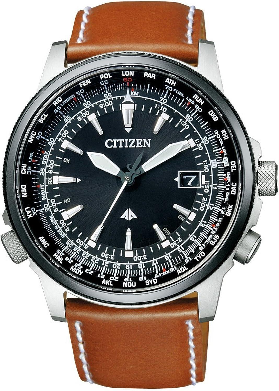[シチズン]CITIZEN 腕時計 PROMASTER プロマスター SKYシリーズ Eco-Drive エコドライブ 電波時計 ダイレクトフライト針表示式 CB0134-00E メンズ B00AE16X4W