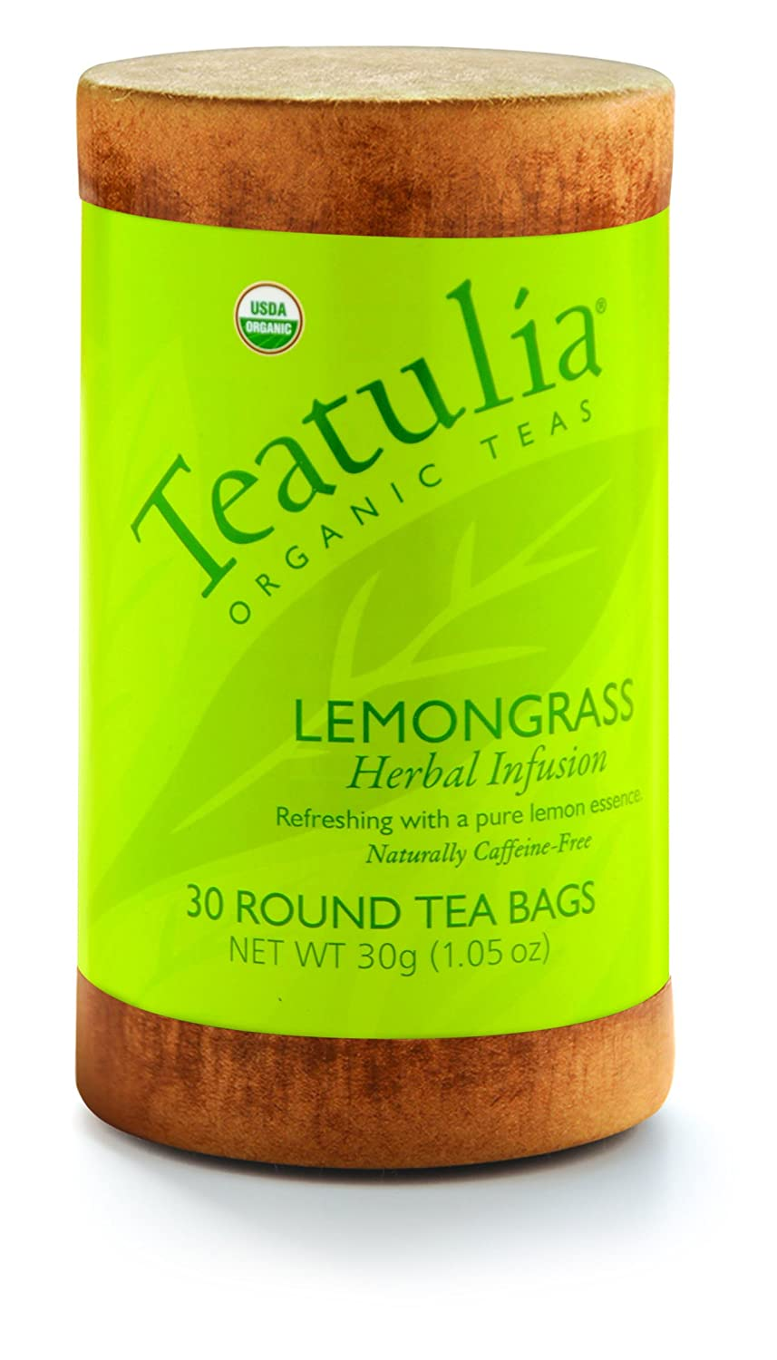 Organic Lemongrass 6 units x 30 Unwrapped Standard Tea Bags