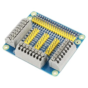 1Pcs 1 Row to 3 Row GPIO Serial Port Expansion Extension Board for