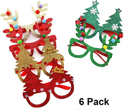 Tree Beard Pink Christmas Holiday Ornament Gold Foil Santa CARDSTOCK Kit