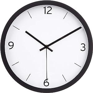"AmazonBasics 12"" Dash Wall Clock - Black"