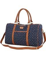 BAOSHA HB-25 Cute Lady Women Canvas Travel Bag Weekender Overnight Bag Carry-on Duffel Tote Bag
