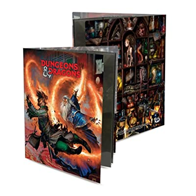 Ultra Pro Officially Licensed Dungeons & Dragons Wizard Character Folio: Toys & Games
