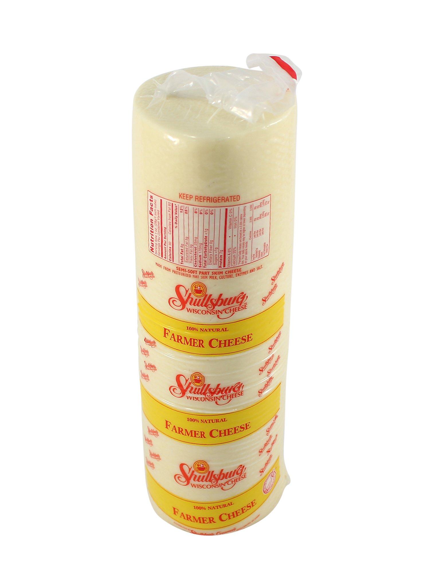 Shullsburg Creamery - Farmer Cheese - 6 Pound Mini Deli Horn