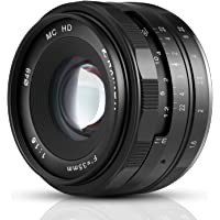 Kaxinda 35mm F1.6 Mirrorless Lens Fixed Lens for Sony E Mount Cameras - Black APS-C Digitial SLR Camera A6500 A6000 A6100 A6300 A7III A9 NEX 3 3N 5 NEX 5T NEX 5R NEX 6 7 A6400 A5000 A5100