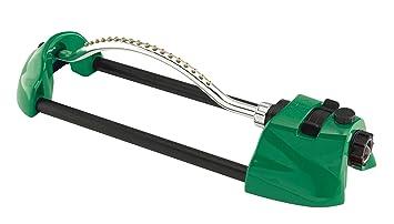 Dramm 15004 ColorStorm Premium Metal Oscillating Sprinkler With Brass  Nozzle Jets, Green