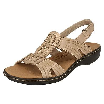 Damenschuhe Clarks Damen Sandalen Leisa Rebe Kleidung & Accessoires