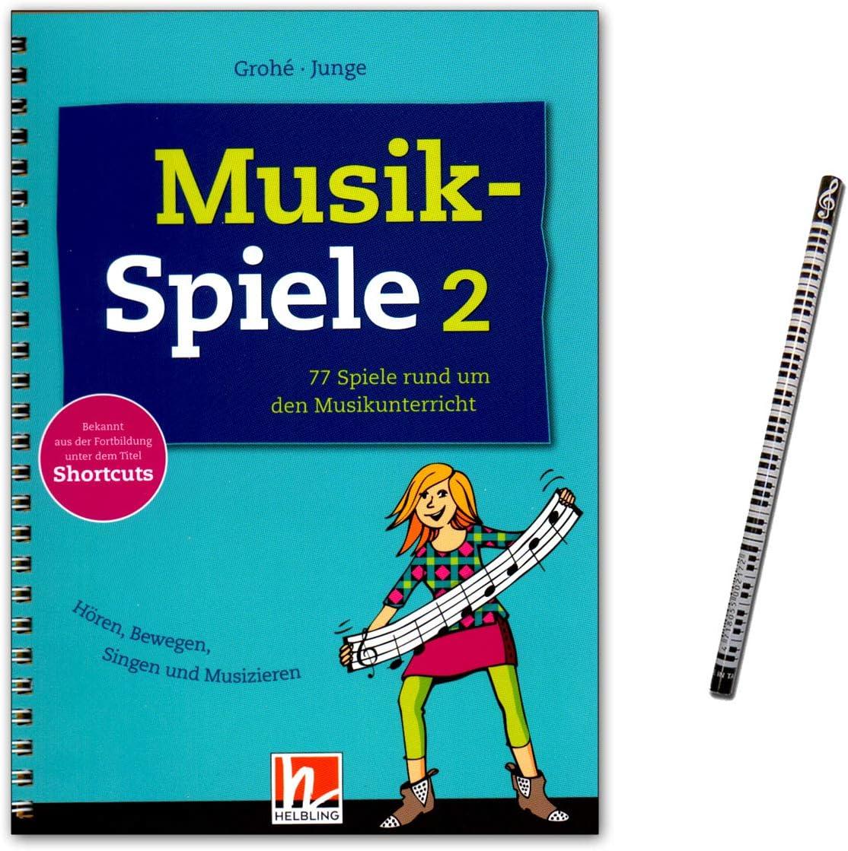Música Juegos de banda 2–77Juegos alrededor del Estimada Clases Contiene Juegos para todos los touchportal Clases Situaciones–Helbling Verlag s74489783862272037