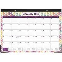 """2020 Desk Calendar - Desk Calendar 2020, 17"""" x 12"""", Large Monthly Page Desk Calendar, Jan 2020 - Dec 2020, Large Ruled Blocks, Tear Off, Best Desk/Wall Calendar for Planning and Organizing for You"""