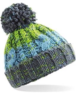83c5601d331 Beechfield Original Headwear Infant Cable Knit Melange Beanie ...