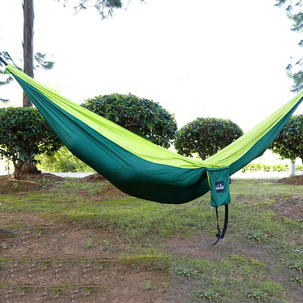 YTYC 260130CM Large Size Portable 2 People Hammock Camping Leisure Hammock Swing by YTYC