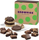 Fairytale Brownies Cookie & Magic Morsel Combo Gourmet Food Gift Basket Chocolate Box - 1.5 Inch x 1.5 Inch Bite-Size Brownies and 3.25 Inch Cookies - 18 Pieces