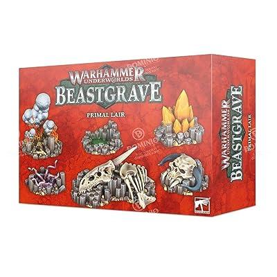 Warhammer Underworlds: Beastgrave Primal Lair: Toys & Games