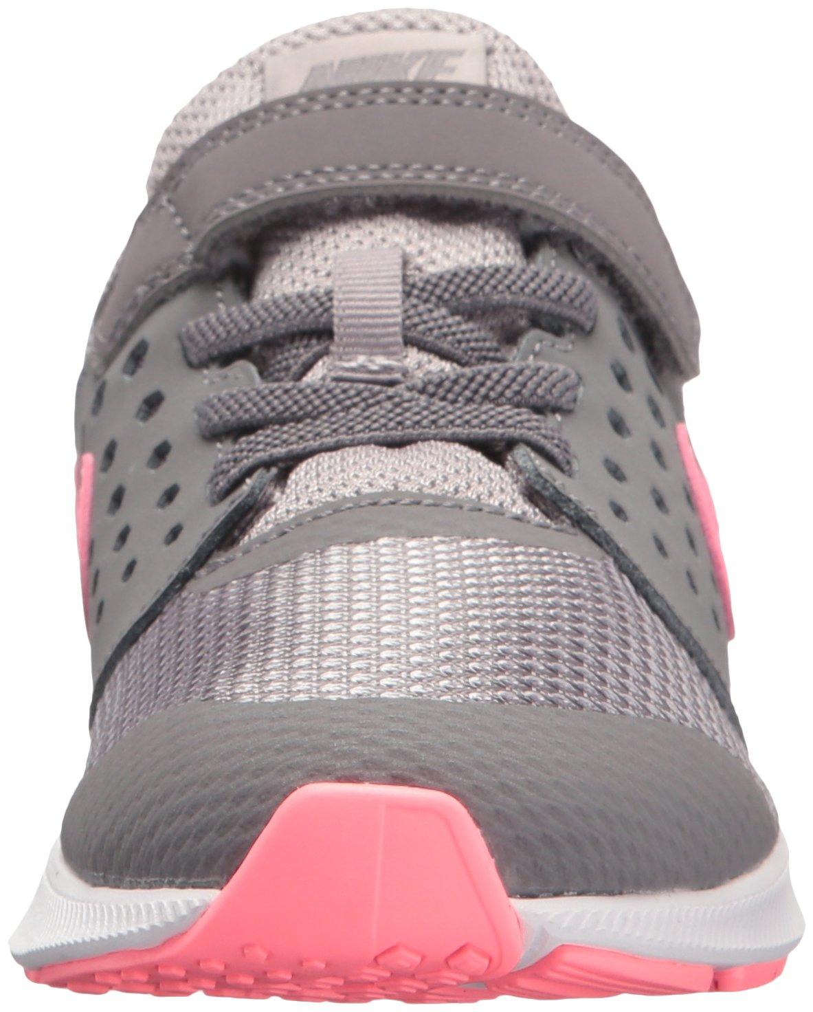 Nike Girls' Downshifter 7 (PSV) Running Shoe, Gunsmoke/Sunset Pulse-Atmosphere Grey, 2 M US Little Kid by Nike (Image #4)