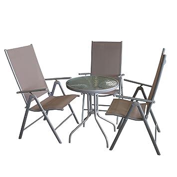 Juego de muebles de balcón Bistro Mesa, mesa tablero de ...