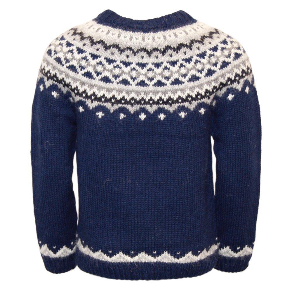 c41e999cb ICEWEAR Skjoldur Men s Sweater Hand Knitted Design 100% Icelandic ...