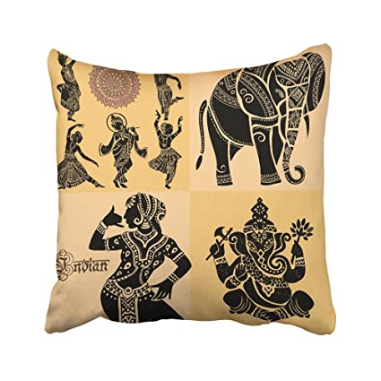 Amazon Emvency Decorative Throw Pillow Covers Cases India