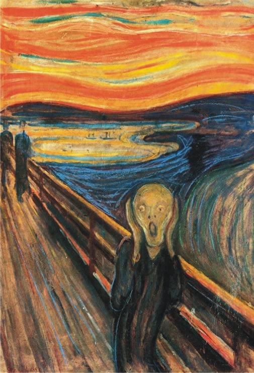 The Scream 2x3 Gift Fridge Magnet Edward Munch Business