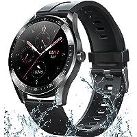 Smartwatch para Teléfonos Android iOS, Reloj inteligente de Temperatura Corporal con Monitor de Frecuencia Cardíaca…