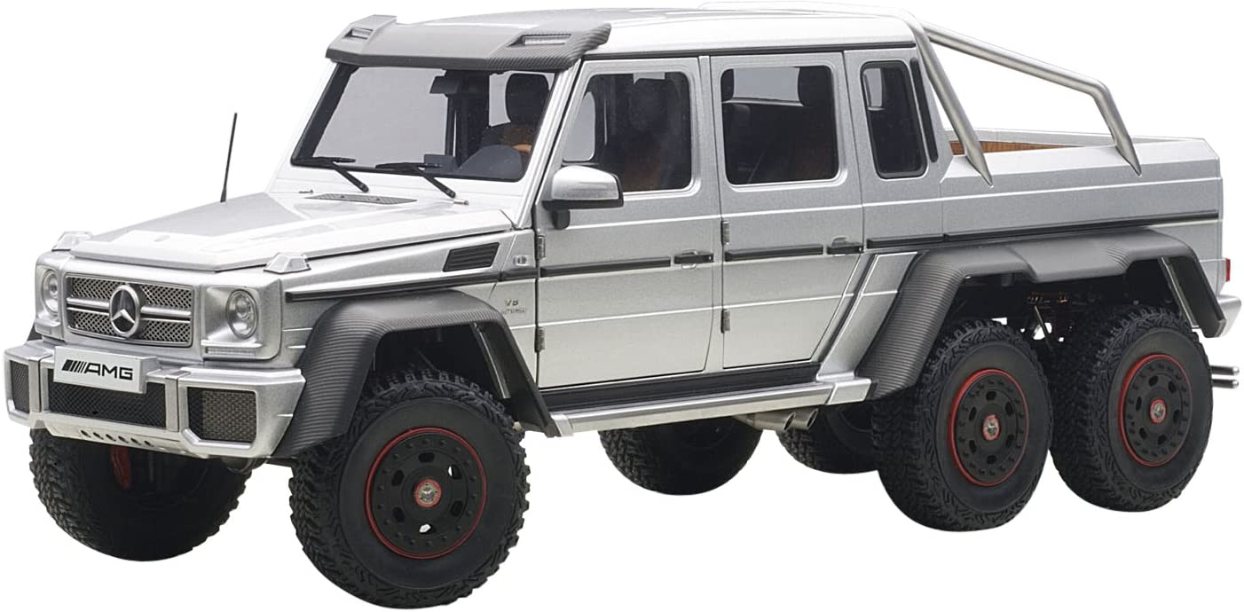 Details about  /NEW AUTOART 1//18 Benz G63 AMG 2017 Diecast Model Car gift Collection Silver//Blue