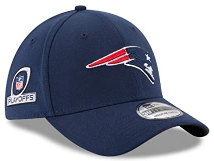 buy online 5e201 409a0 Image Unavailable. Image not available for. Color  New England Patriots New  Era NFL 39THIRTY Team Classic Playoff Patch Flex Hat