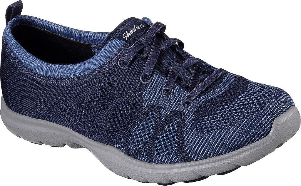 Skechers Skechers Skechers Damens's Dreamstep Esteem Bungee Lace Sneaker,Navy Blau,US 5 974883