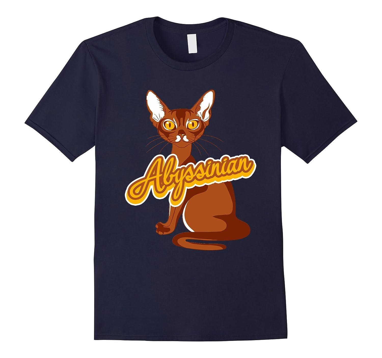 Abyssinian Cat Shirt - Abyssinian Cat Cute T shirts-AZP
