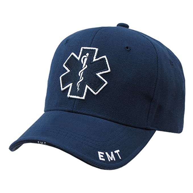 7194af96e45 Amazon.com  EMT CROSS STAR OF LIFE BLUE MEDICAL TECHNICIAN UNIFORM ...