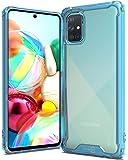 CoverON Pure View Series for Samsung Galaxy A71 Case Blue F881-CO-SAGA71-HY43-BL