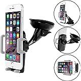 Supporto Universale iPhone 6 6S Auto, Bingsale Auto Universale Car Mount Holder Auto Supporter Rotazione Di 360 Gradi per iPhone 7/ 6S Plus / 6S / 6 Plus / 6, 5 / 5S /5C, iPhone 4 / 4S, Samsung Galaxy S8/ S7 / S6 Edge / S6 / S5 / S4 / Note 5 / Note 4, LG G4 / G3