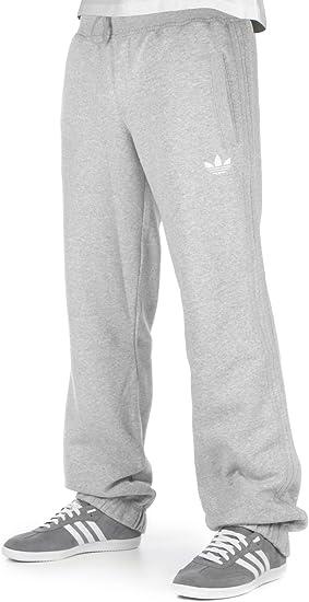 adidas SPO Fleece Trackpant hombres pantalones de chándal gris ...