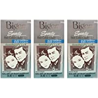 3 Boxes of BIGEN Speedy Dark Brown No.883 Hair Color Conditioner. Darkens Grey Hair in 5 min