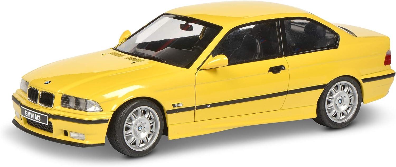 Modellauto Solido 421185370 S1803902 BMW E36 Coup/é M3 1:18 gelb Baujahr 1994