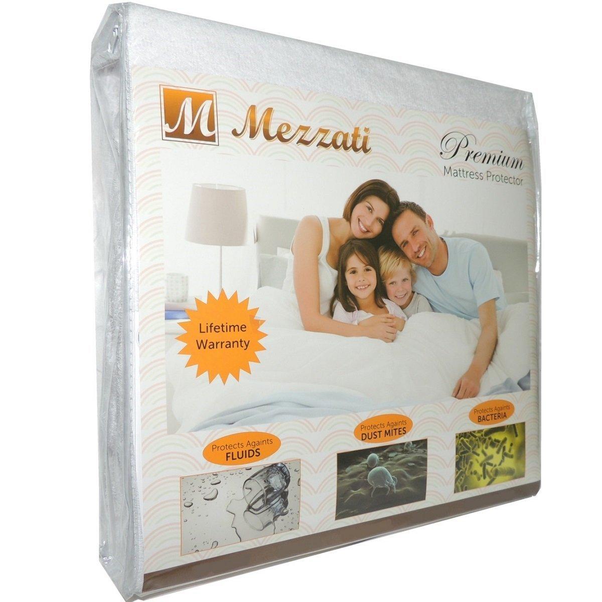 Mezzati #1 Premium Hypoallergenic Mattress Protector - ON SALE
