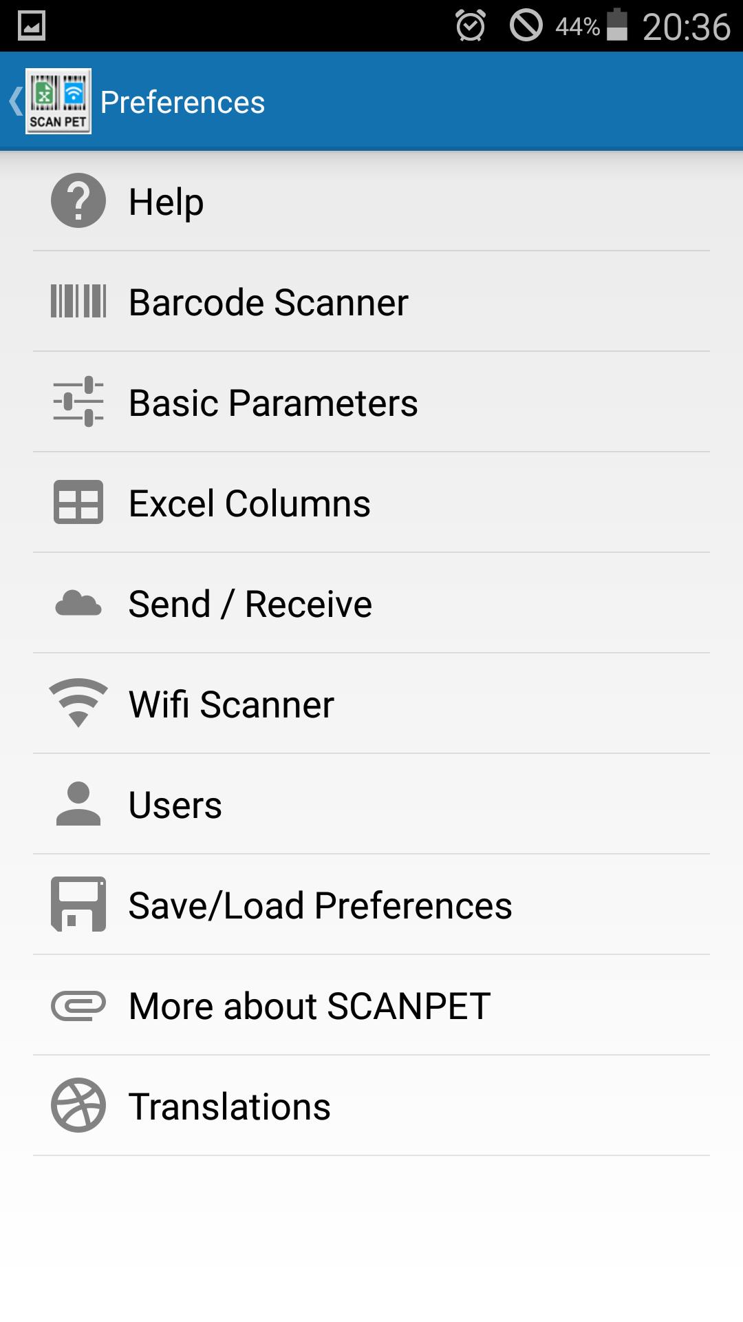 XSCANPET barcode scanner & inventory & Excel & wifi