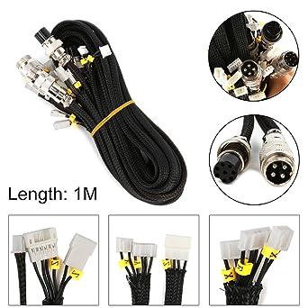 3D Printer Upgrade Parts Juego de cables de extensión para CR-10 ...