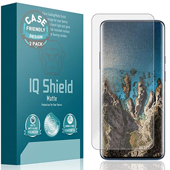Amazon.com: Protector de pantalla OnePlus 7 Pro (compatible ...