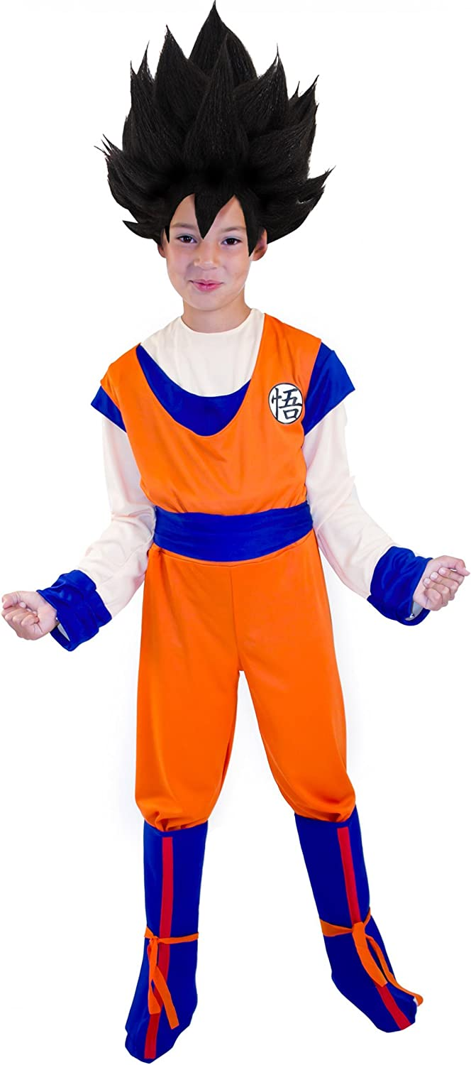 Disfraz de Goku™ Dragon Ball Z™, para niño - 5-7 años: Amazon.es ...