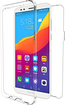 MovilCom® - Funda Huawei Y9 2018 Transparente 360º Doble Ultra ...