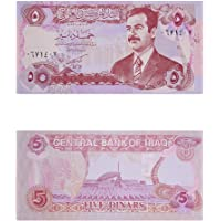 MW Mintage World Iraq 5 Dinar Sadam Note