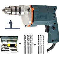 Tiger Dee Power 10 mm Drill Machine with 41 Pcs Screwdriver Power + 6 Hss Bit+ 4 Masonry Bit