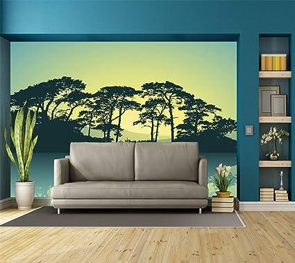 Amazon.com: Large Wall Mural Sticker [ Apartment Decor ...