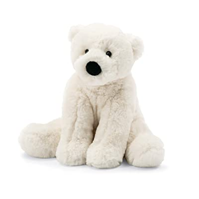 Jellycat Perry Polar Bear Stuffed Animal, Small 8 inches: Toys & Games