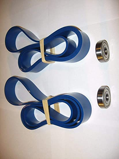 """DELTA 14/"""" INCH BLUE MAX URETHANE BAND SAW TIRES AND 2 THRUST BEARINGS."""