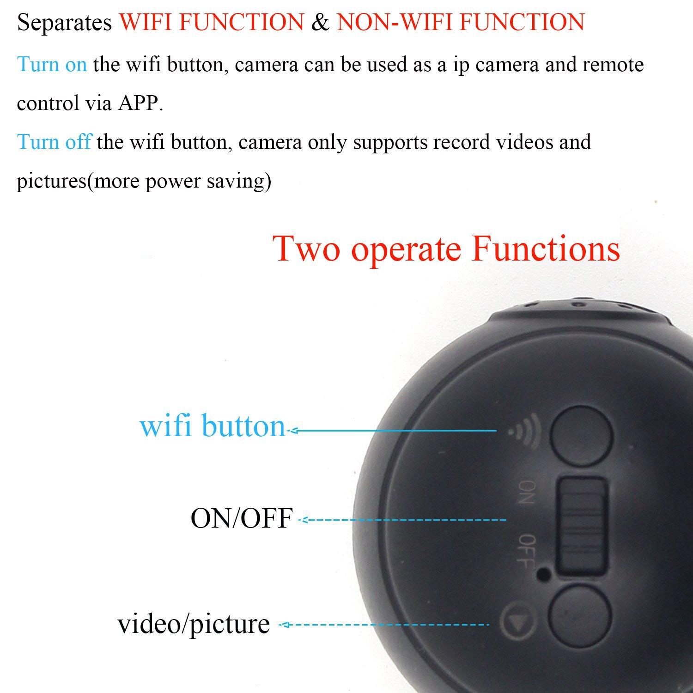 Amazon.com : Spy Hidden Camera LXMIMI 1080P HD Mini Wireless Camera P2P IP Hidden Camera Supports Remote View and Control Security Camera with Night Vision ...