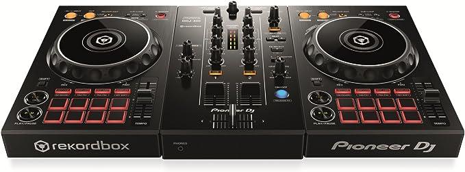 Pioneer DJ DDJ-400, Controlador portátil de 2 canales para DJ ...