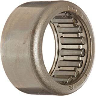 60mm ID Caged Drawn Cup 4400rpm Maximum Rotational Speed Open End Metric 68mm OD Outer Ring and Roller INA HK6012 Needle Roller Bearing Steel Cage 12mm Width