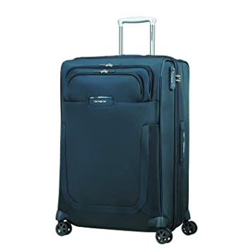 SAMSONITE Duosphere - Spinner 67/24 Expandable Equipaje de Mano, 67 cm, 80.5 Liters, Azul (Dark Blue): Amazon.es: Equipaje